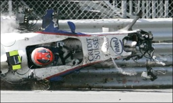 'accident de Kubica